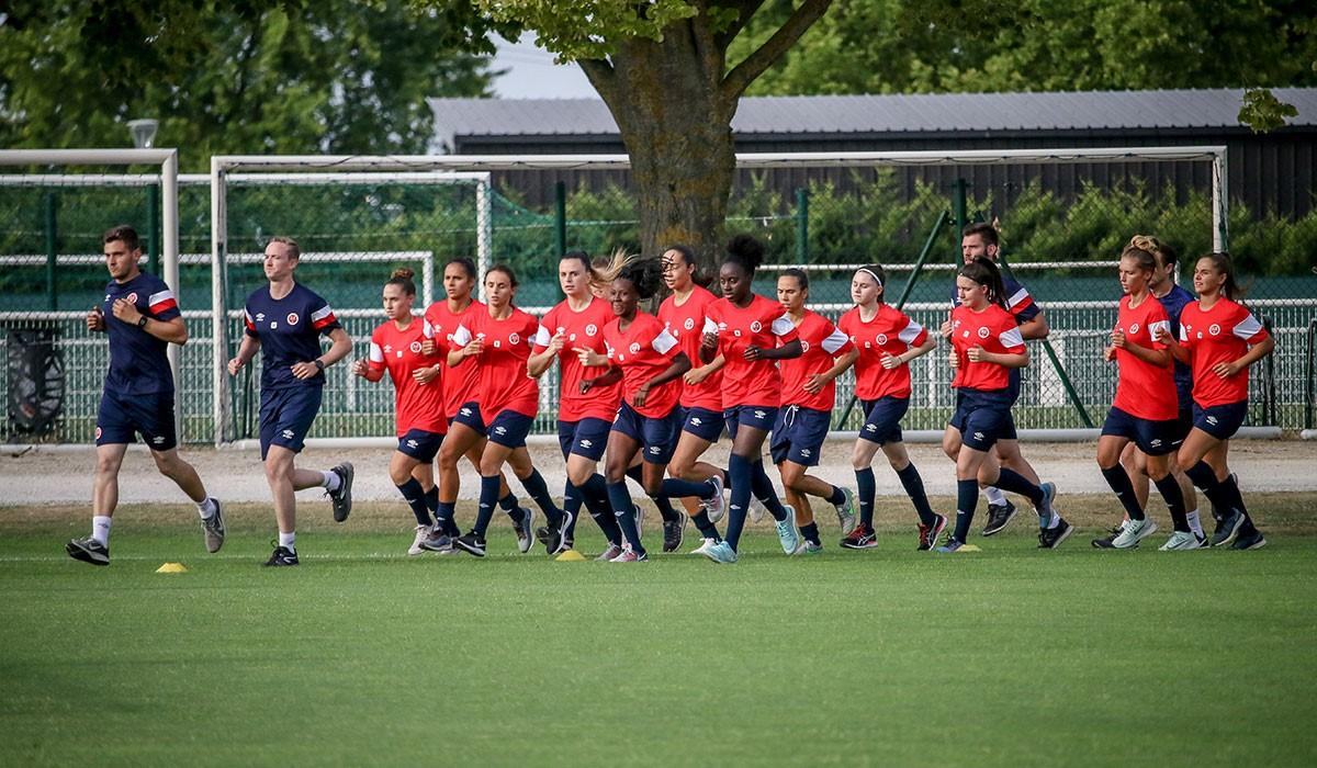 Semaine De Reprise Pour La D1f Stade De Reims
